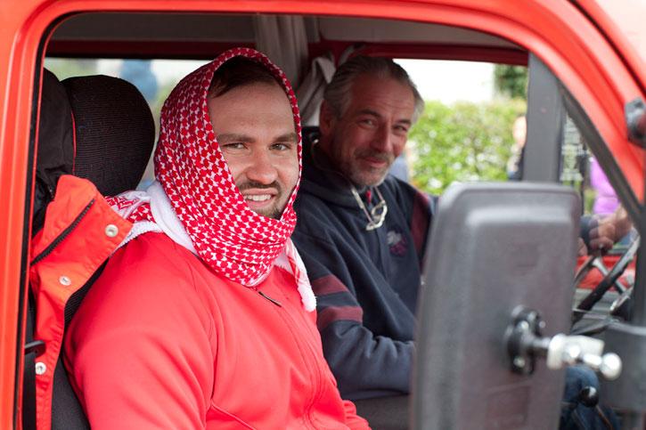 Arafat & Helmut