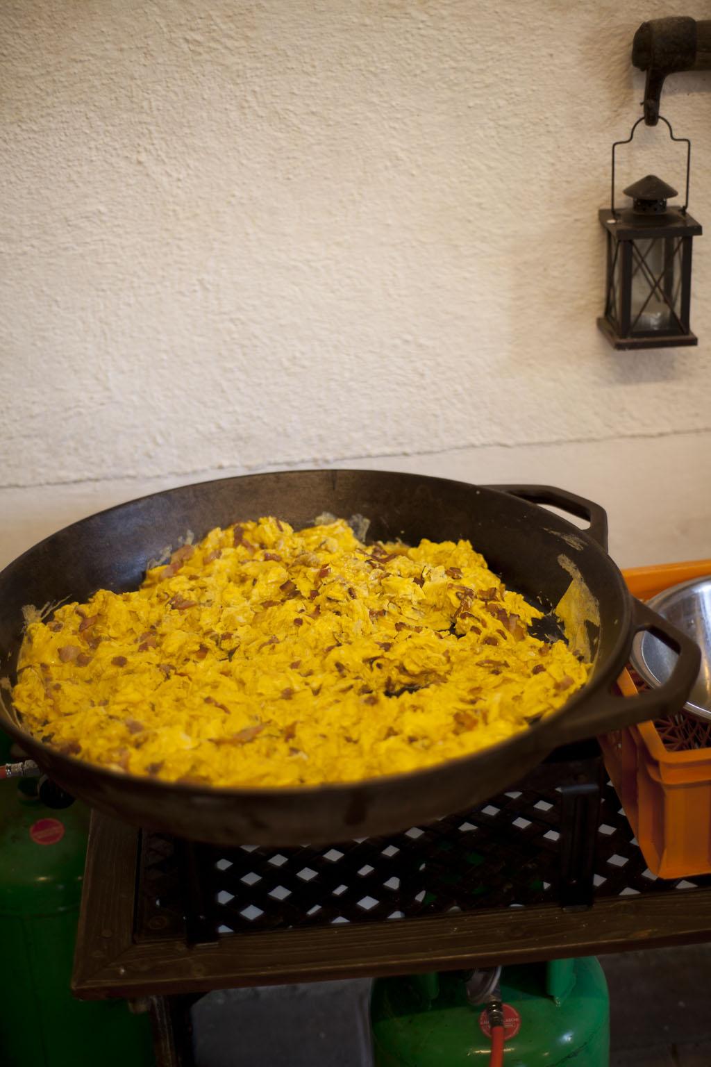 Kurti's Eierspeis (80 Eier)