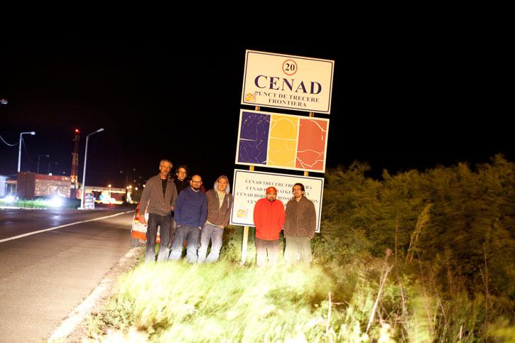 Grenzübertritt nach Rumänien